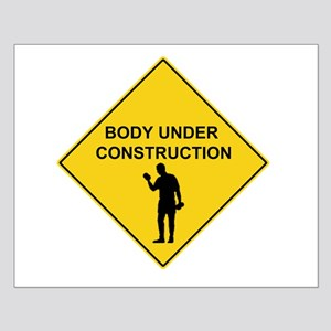 Body Under Contruction Small Poster