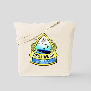 USS (PCU) Hawaii SSN 776 Tote Bag
