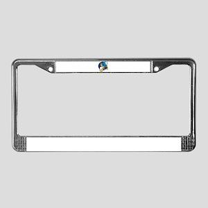 film lighting crew License Plate Frame