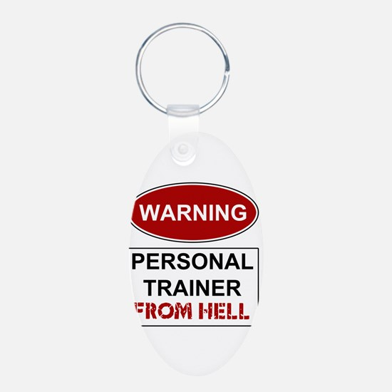 Warning Personal Trainer from Keychains