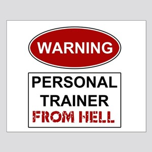 Warning Personal Trainer from Small Poster