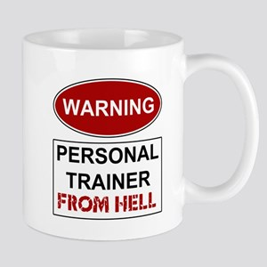 Warning Personal Trainer from Mug