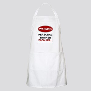 Warning Personal Trainer from Apron