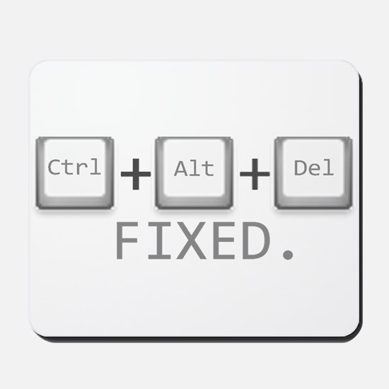 Ctrl + Alt + Del = Fixed. Mousepad