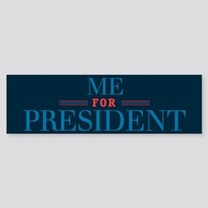 For Pres3_bumpersticker Bumper Sticker