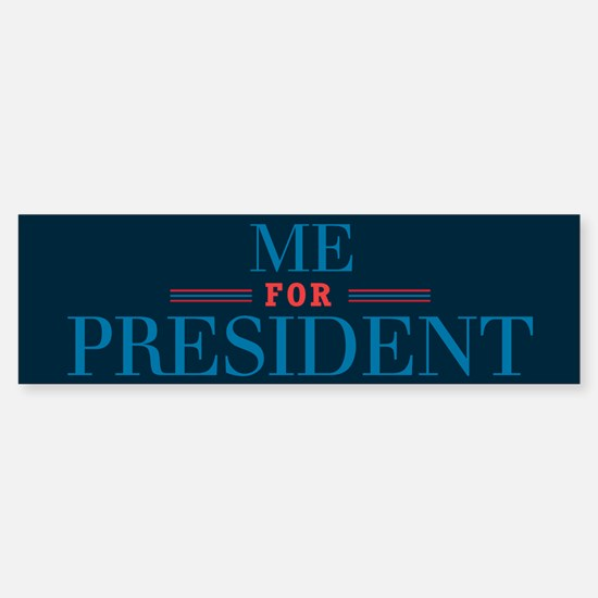 For Pres3_bumpersticker Bumper Bumper Bumper Sticker