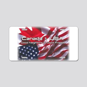 USA & Canada Aluminum License Plate
