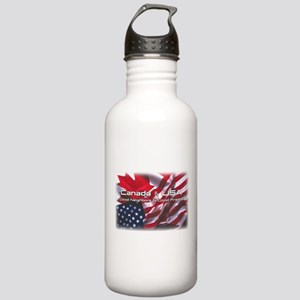 USA & Canada Stainless Water Bottle 1.0L