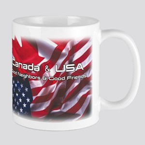 USA & Canada Mug
