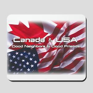 USA & Canada Mousepad