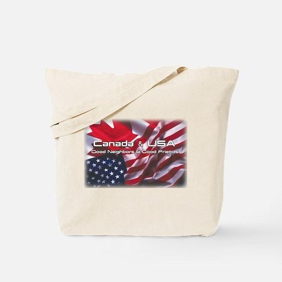 USA & Canada Tote Bag