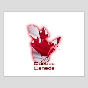 Quebec, Canada Small Poster