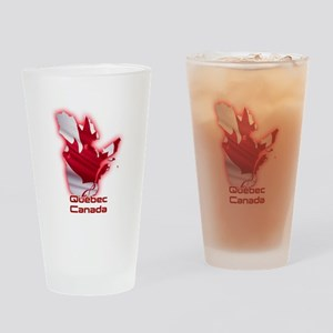 Quebec, Canada Drinking Glass