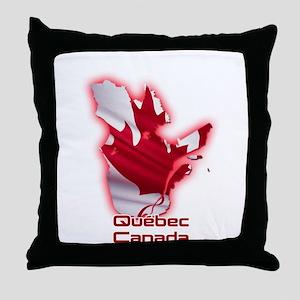 Quebec, Canada Throw Pillow