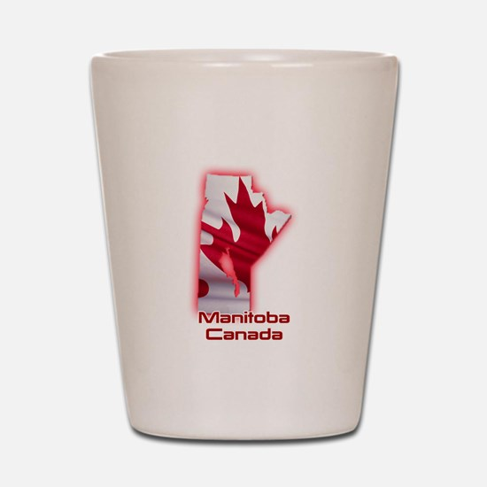Manitoba, Canada Shot Glass