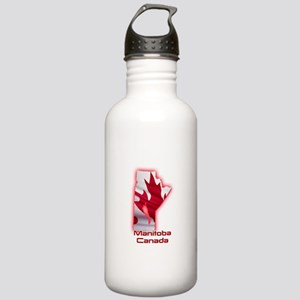 Manitoba, Canada Stainless Water Bottle 1.0L