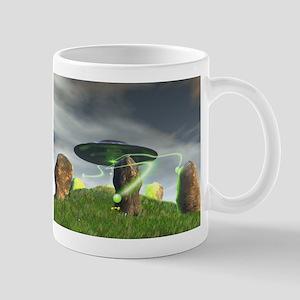 UFO and Ancient Stone Circle Mug