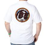 Mac's Redhead Golf Shirt, back
