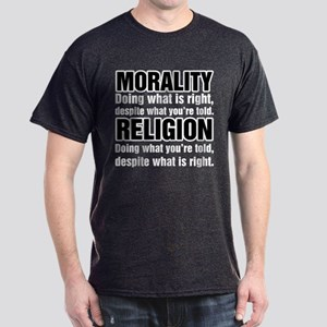 Morality What is Right Dark T-Shirt
