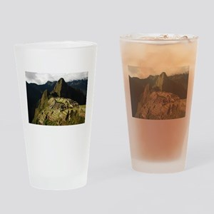 Machu Picchu Drinking Glass