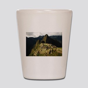 Machu Picchu Shot Glass