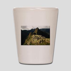 Machu Picchu Shot Glass