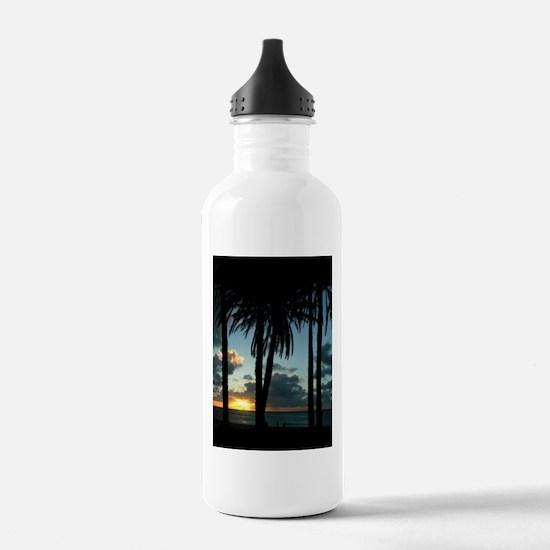Hawaii Sunset Water Bottle