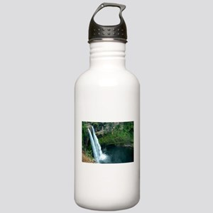 Double Waterfall Stainless Water Bottle 1.0L