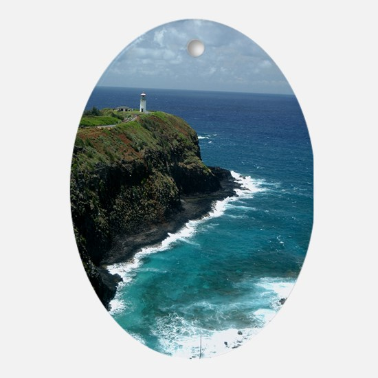 Lighthouse Ornament (Oval)