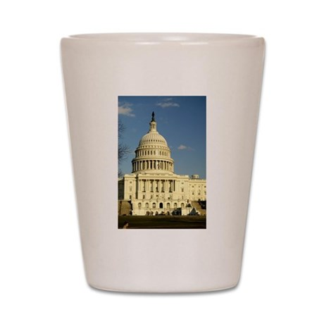 Capital Building Shot Glass