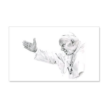 Pope John Paul II 22x14 Wall Peel