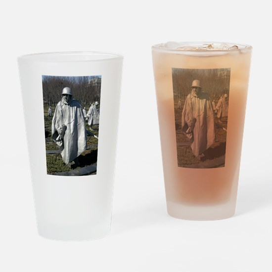 Korean War Memorial Drinking Glass