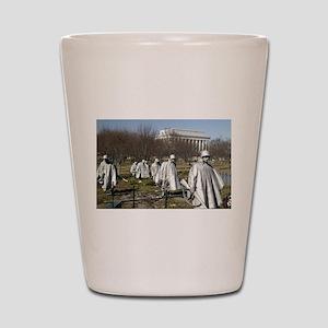Korean War Memorial Shot Glass