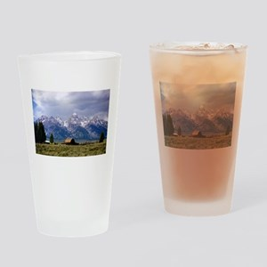 Grand Tetons National Park Drinking Glass