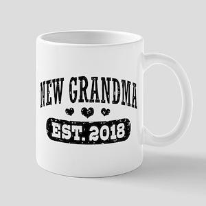 New Grandma Est. 2018 11 oz Ceramic Mug