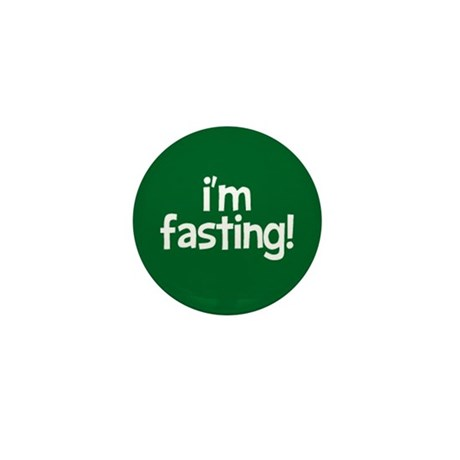 Fasting Mini Button 100 pack (green)