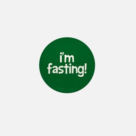 Fasting Mini Button (green)