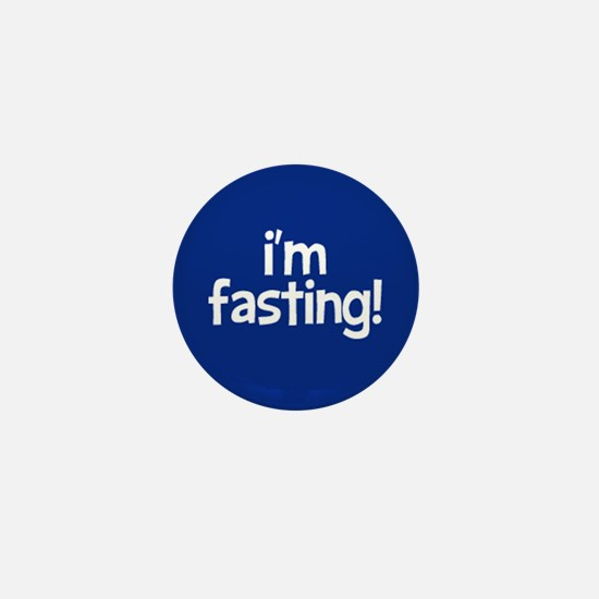 Fasting Mini Button (navy)