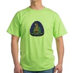 Lady of Guadalupe T6 Green T-Shirt