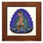 Lady of Guadalupe T6 Framed Tile