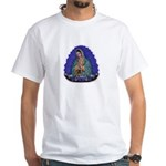 Lady of Guadalupe T6 White T-Shirt