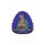 Lady of Guadalupe T6 Sticker (Rectangle 50 pk)