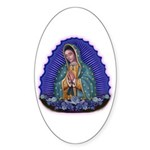 Lady of Guadalupe T6 Sticker (Oval 50 pk)
