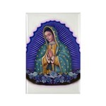 Lady of Guadalupe T6 Rectangle Magnet
