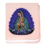 Lady of Guadalupe T6 baby blanket