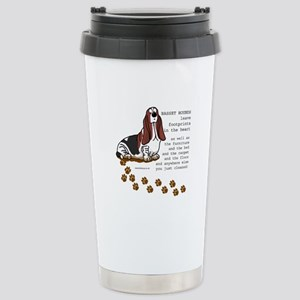 Basset's Stainless Steel Travel Mug