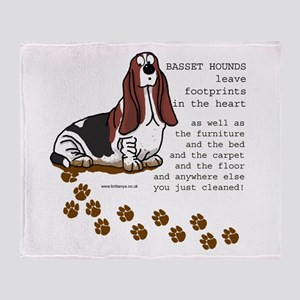 Basset's Throw Blanket