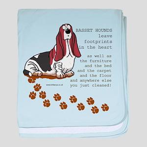 Basset's baby blanket