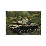 M60a3 Us Woodland Magnets