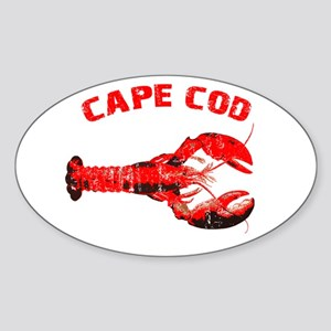 Cape Cod Lobster Sticker (Oval)